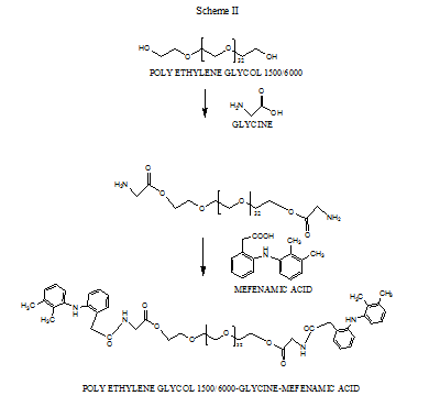 View of SYNTHESIS OF PRODRUGS OF MEFENAMIC ACID AND THEIR IN