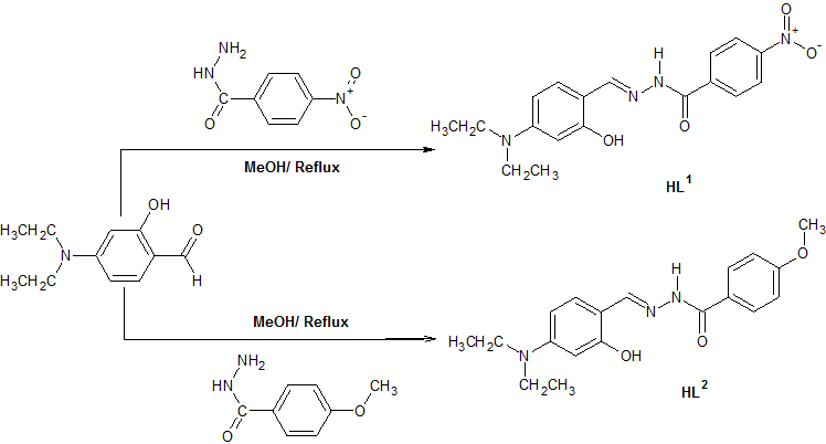 View of HYDRAZIDE SCHIFF BASES OF ACETYLACETONATE METAL