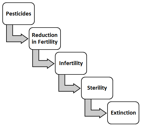 Agro pesticides and andrology sharma international journal of 2 flow diagram depicting cascade start by pesticides leading to infertility and extinction sharma and goyal unpublished work ccuart Image collections