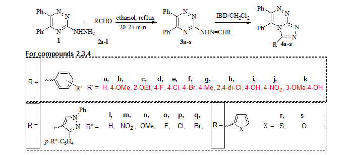 View of SYNTHESIS OF SOME NOVEL 3,5,6-TRISUBSTITUTED-[1,2,4
