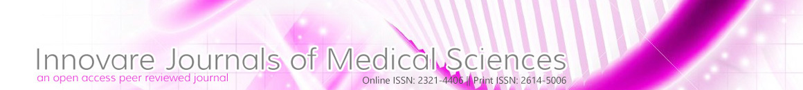 Innovare Journal of Medical Sciences