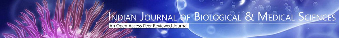 Indian Journal of Biological & Medical Sciences