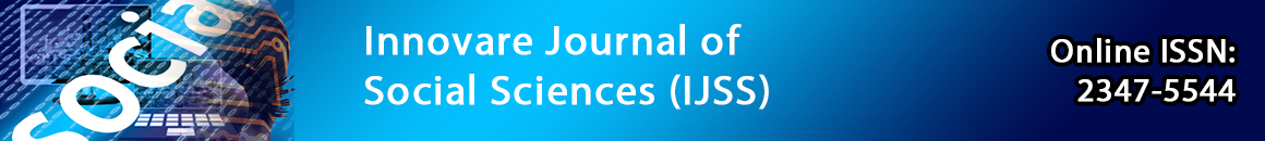 Innovare Journal of Social Sciences