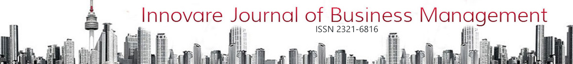 Innovare Journal of Business Management